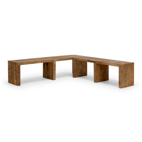 Sheffield Wood Storage Bench Massivum