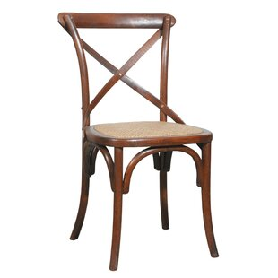 Waldhaus Solid Wood Cross Back Side Chair (Set Of 2) By Gracie Oaks
