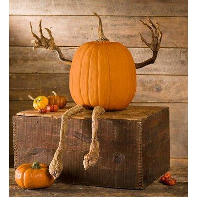 pumpkin vine figurine