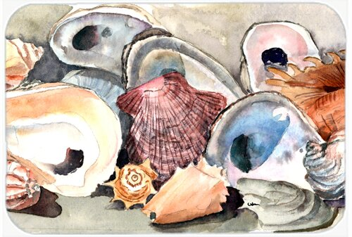 Sea Shells Kitchen/Bath Mat