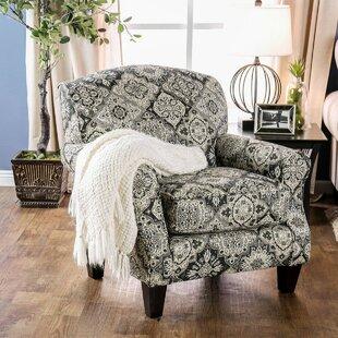 Canora Grey Orey Wooden Armchair
