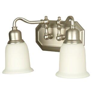 Charlton Home Orangeville 2-Light Vanity Light
