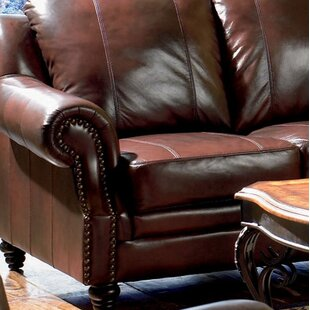 Rosetta Reclining Leather Configurable Living Room Set Darby Home Co