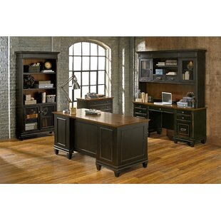 Martin Home Furnishings Hartford 5 Piece Desk Office Suite