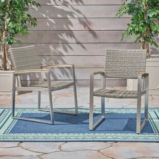Clayhatchee Patio Dining Chairs (Set of 2) by Union Rustic