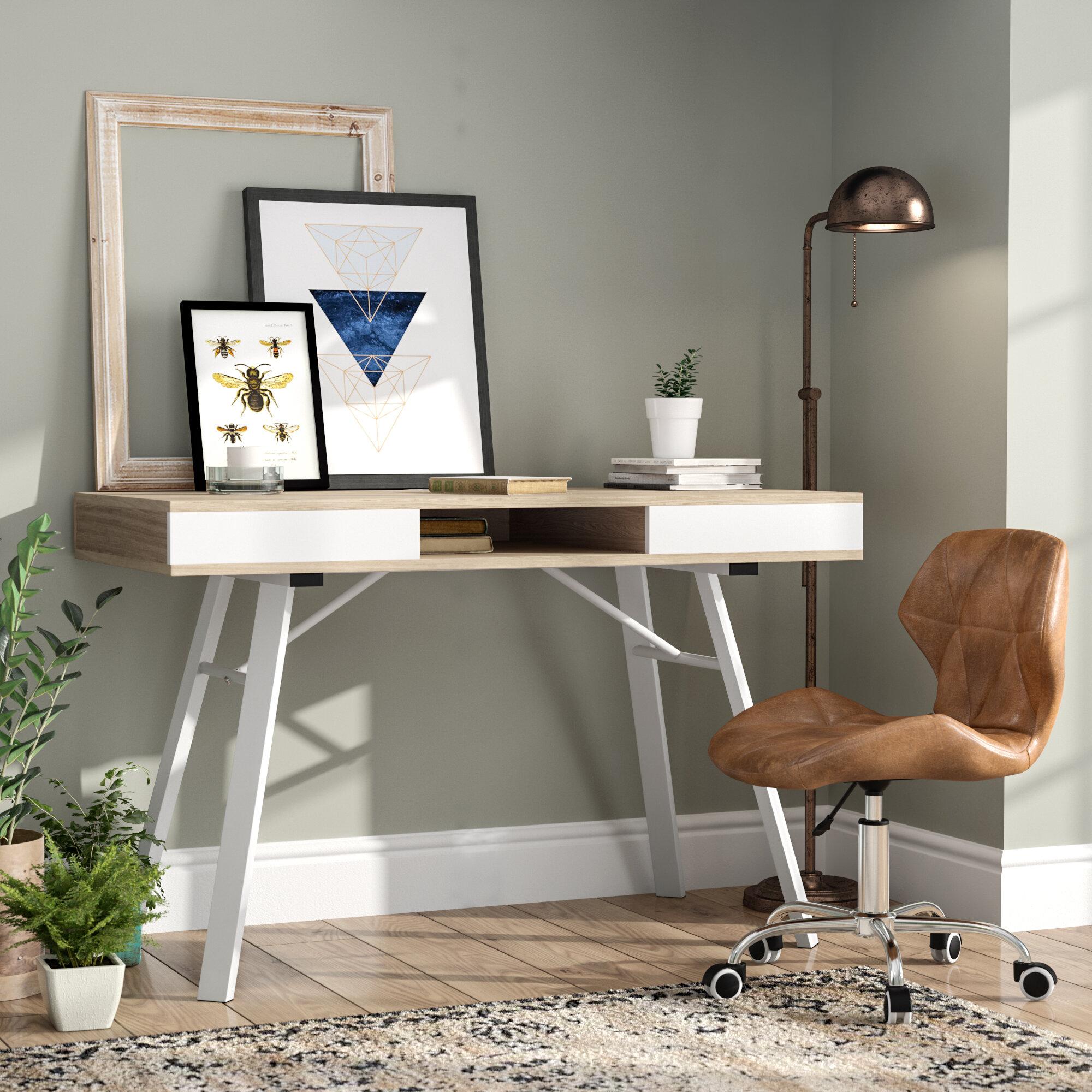 Laurel Foundry Modern Farmhouse Salcedo Writing Desk Reviews Wayfair