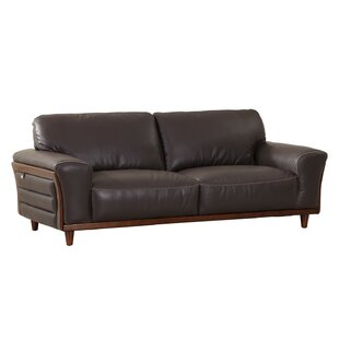 Towe Leather Sofa by Latitude Run