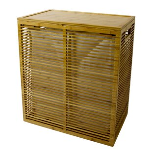 In This Space Open Slats Laundry Hamper
