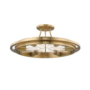 Luellen 6-Light Semi Flush Mount by Longshore Tides