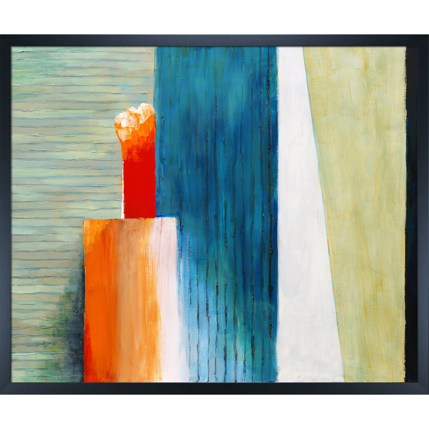Ebern Designs Artistbe Artisbe Slats By Clive Watts Wrapped Canvas Painting Print Wayfair