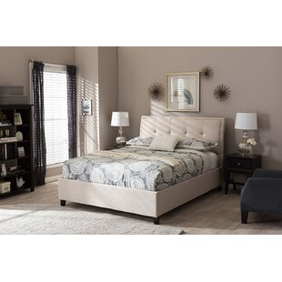 Horicon Queen Upholstered Platform Bed with Storage