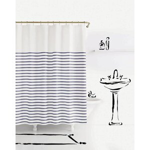 Charlotte Street Shower Curtain