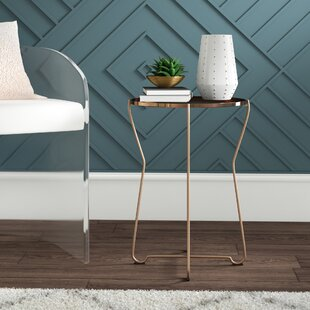 Laureano Metal Accent Tray Table