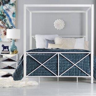 Gilma Canopy Bed by Willa Arlo Interiors