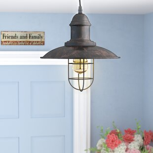 Laurel Foundry Modern Farmhouse Ethel 1-Light Cone Pendant