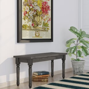 Charlton Home Isadore Wood Bench