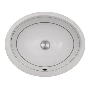 Reviews Regatta Oval Undermount Bathroom Sink with Overflow ByNantucket Sinks
