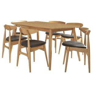 Buffum 7 Piece Counter Height Dining Set