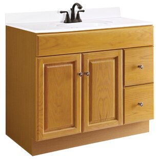 Claremont 36 Single Bathroom Vanity Base by Design House