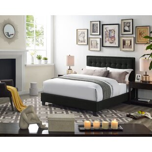 Sabastian Queen Upholstered Platform Bed by Alcott Hill