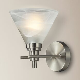 Best Price Jonquil 1-Light Bath Sconce By Charlton Home