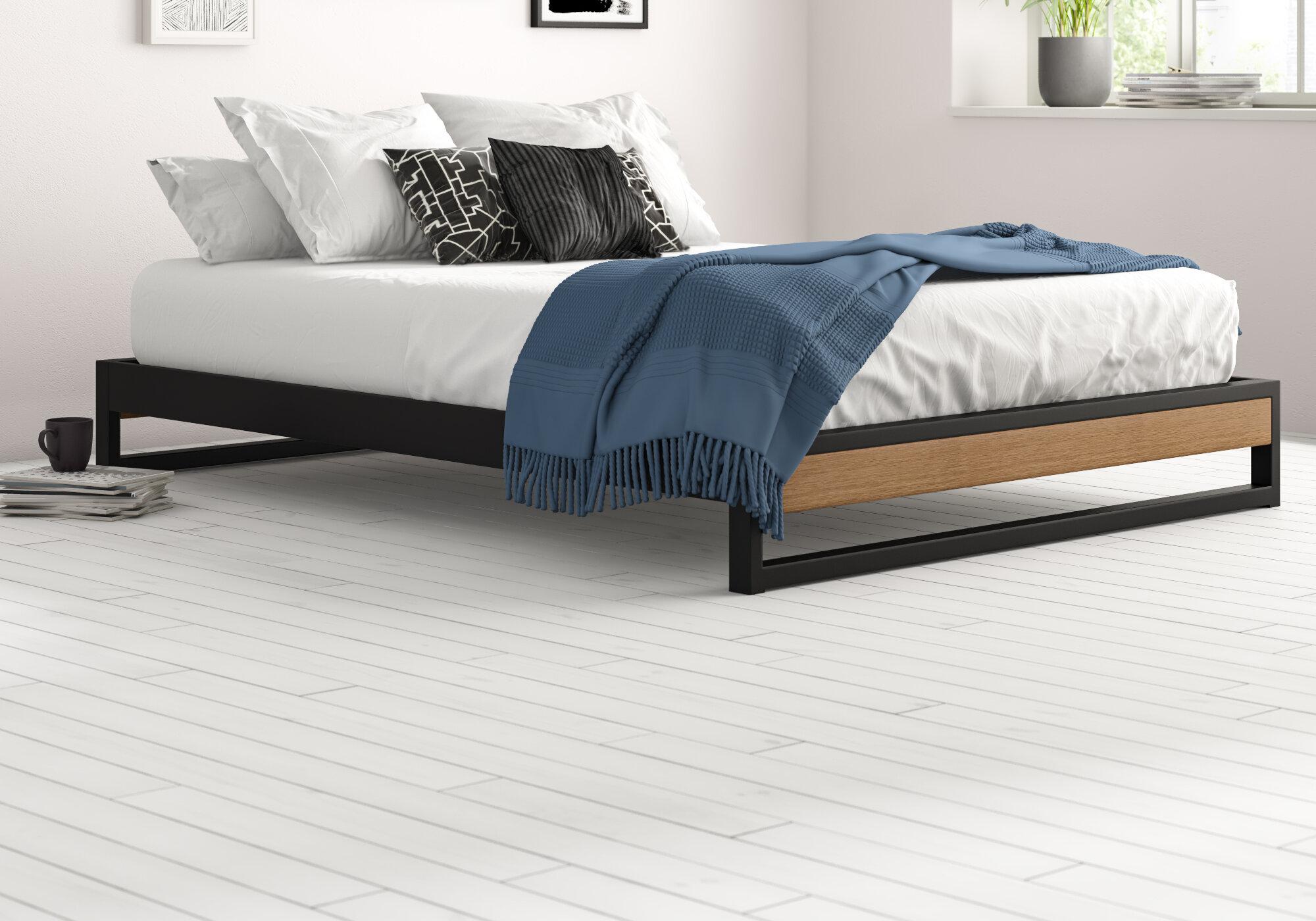 Zipcode Design Permelia Low Profile Platform Bed Reviews Wayfair