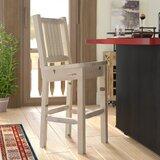 Abella Solid Wood 30 Barstool by Loon Peak®