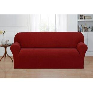 Box Cushion Sofa Slipcover by Ebern Designs