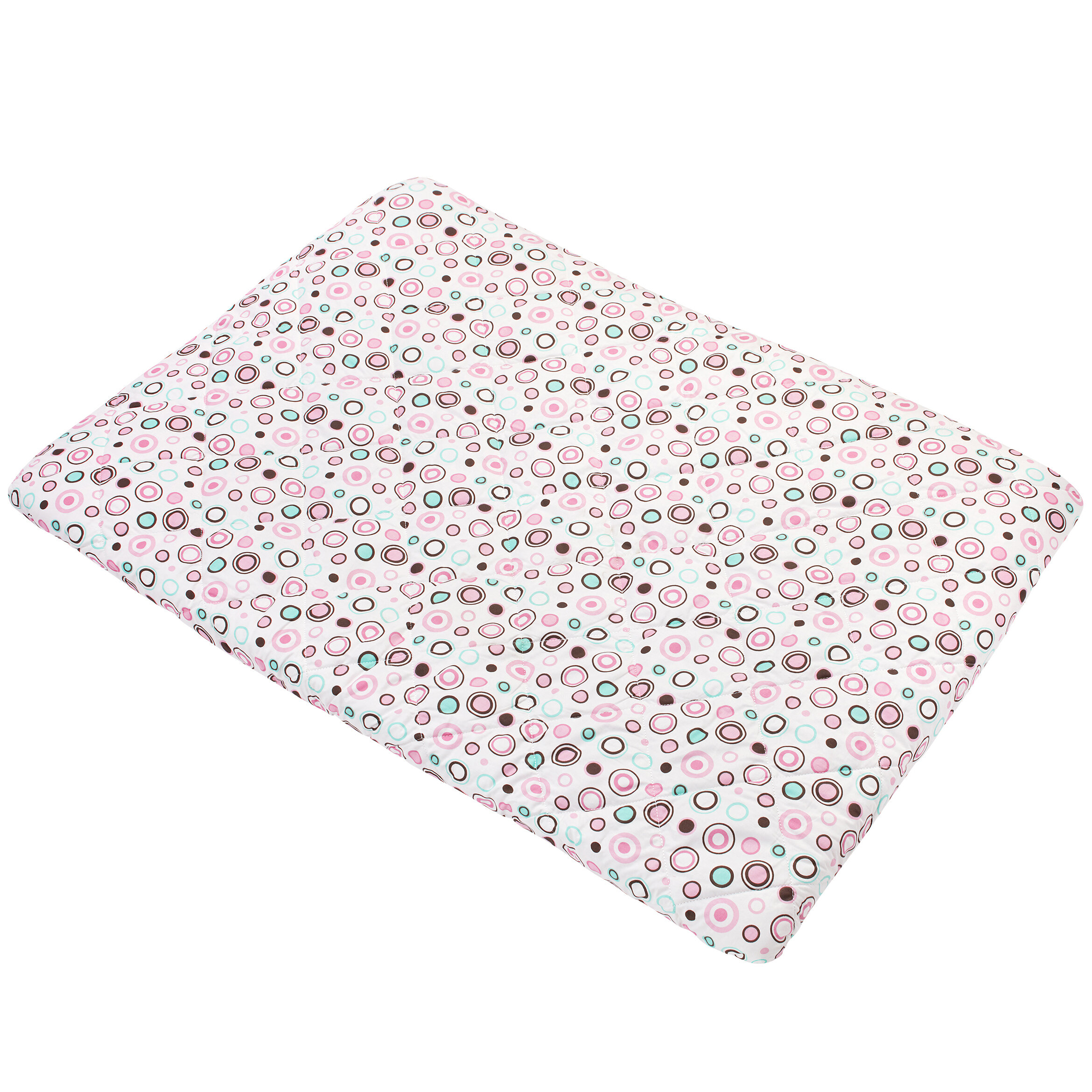 One Size Carter/'s Quilted Playard Sheet Solid Ivory