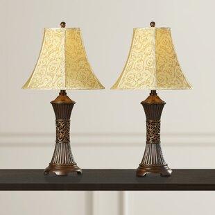 Alcott Hill Shawe Table Lamp (Set of 2)