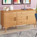 "Corban 57"" Wide 3 Drawer Buffet Table"