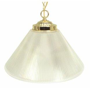Monument Prismatic Cone 1-Light Bowl Pendant