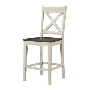 Scales 24 Bar Stool (Set of 2) Gracie Oaks