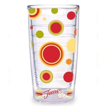 Fiesta Dots Stripes 16 Oz Insulated Travel Tumbler Reviews Wayfair