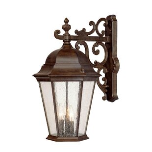 Price comparison Bellver 3-Light Outdoor Sconce By Astoria Grand