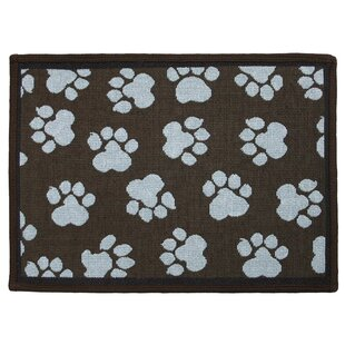 Fresh Paw Print Rug | Wayfair OM28