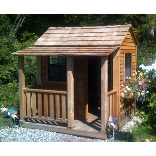 Little Squirt 6.79' X 6.58' Playhouse By Outdoor Living Today