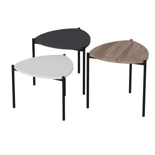 Lenny 3 Piece Coffee Table Set By 17 Stories