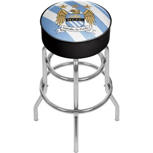 English Premier League 31 Swivel Bar Stool Trademark Global