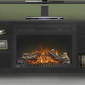 Affordable Price Foley TV Stand for TVs up to 24 with Electric Fireplace by Napoleon Reviews (2019) & Buyer's Guide