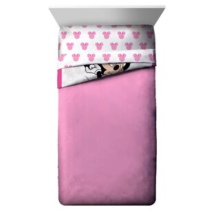 Minnie Mouse XOXO Reversible Comforter Set