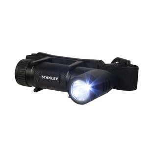 Stanley Headlight Led With Headband 280 Lumen Black By Edco