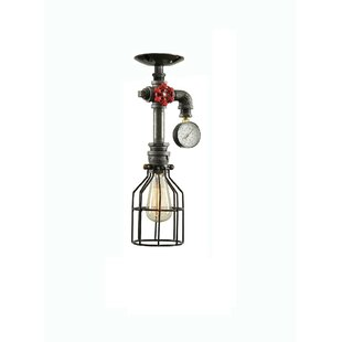 Reviews Steampunk 1-Light Foyer Pendant By West Ninth Vintage