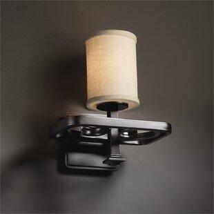 Latitude Run Red Hook 1-Light LED Armed Sconce