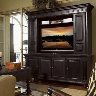Kingstown Solid Wood Entertainment Center For TVs Up To 55