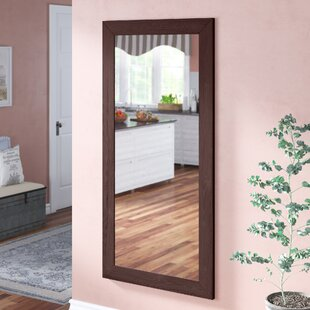 Adalwin Dark Walnut Leaning Accent Wall Mirror By Darby Home Co