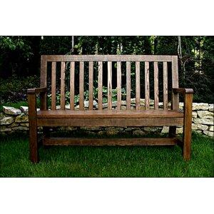 Gartenbank Love aus Massivholz von Prestington