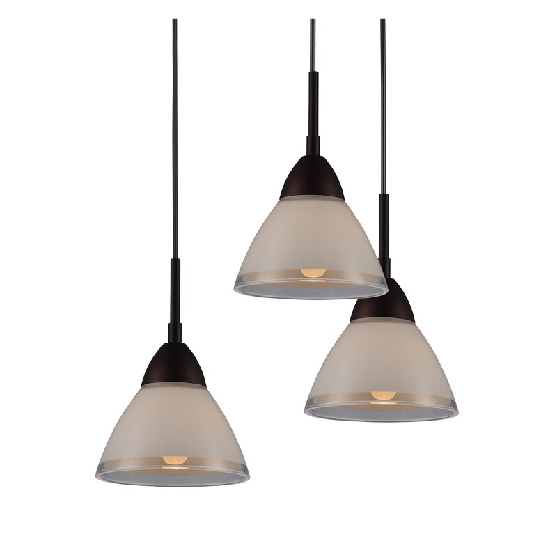 Latitude Run Funsch 5 Light Cluster Cone Pendant Wayfair