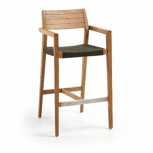 Bay Isle Home Grey Seat Bar Stools