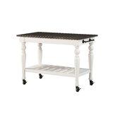 Jarett Kitchen Cart by Charlton Home®